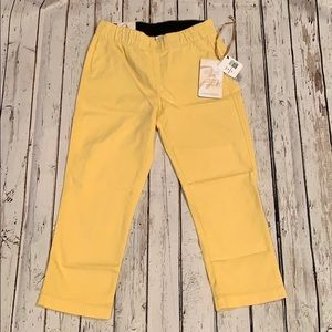 Pants - Miraclebody Cropped Jeggings Yellow size 4